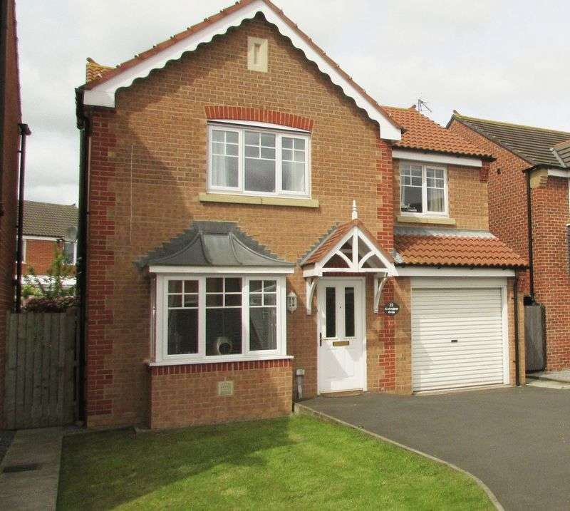 4 Bedrooms Detached House for sale in Cottingham Grove, Durham