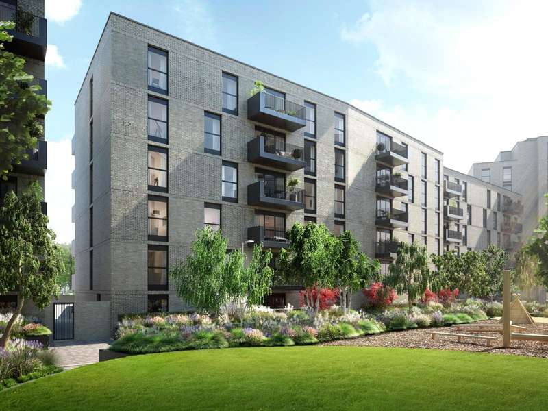1 Bedroom Flat for sale in Lyon Square, Lyon Road, Harrow, Middlesex, HA1