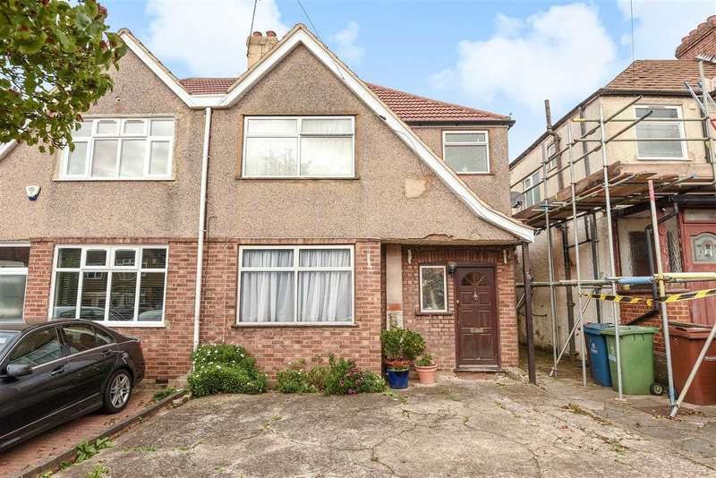 4 Bedrooms Semi Detached House for sale in Weald Lane, Harrow
