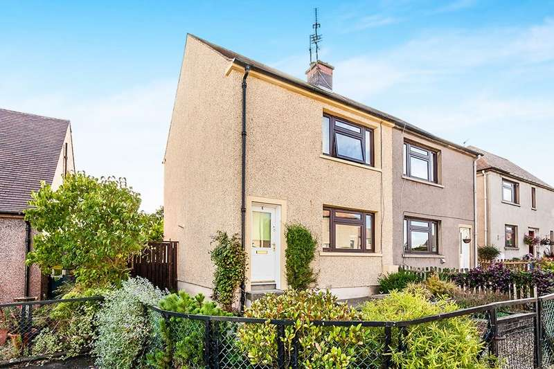 2 Bedrooms Semi Detached House for sale in Salters Grove, Dalkeith, EH22