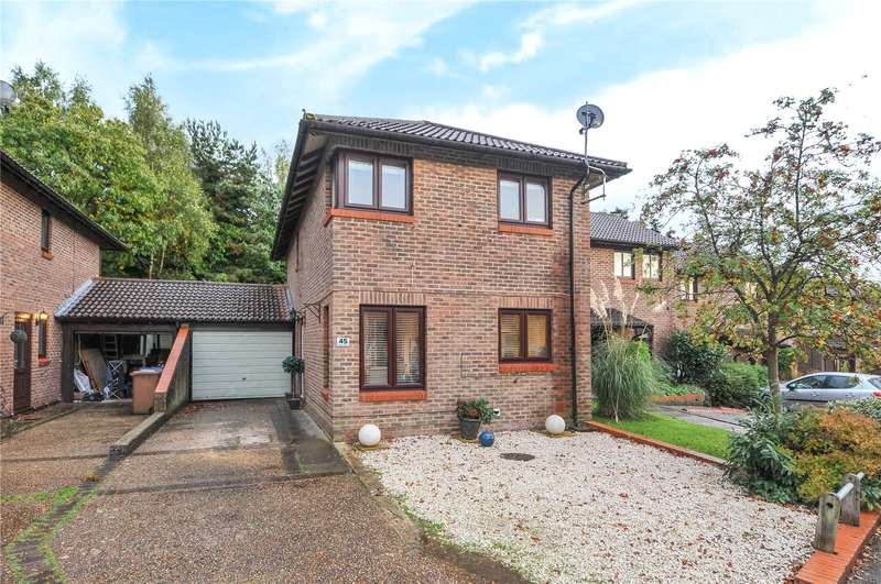 4 Bedrooms Link Detached House for sale in Worlds End Hill, Bracknell, Berkshire, RG12