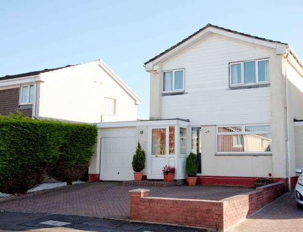 3 Bedrooms Link Detached House for sale in Kinloch Avenue, Stewarton, Kilmarnock, East Ayrshire, KA3 3HQ