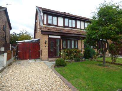 3 Bedrooms Semi Detached House for sale in Tarvin Close, Crossens, Southport, Merseyside, PR9