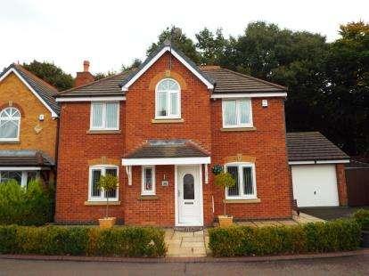 4 Bedrooms Detached House for sale in Smithford Walk, Tarbock Green, Prescot, Merseyside, L35