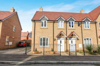 3 Bedrooms End Of Terrace House for sale in Sanger Avenue, Biggleswade, Bedfordshire, .