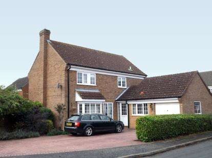4 Bedrooms Detached House for sale in Silverweed, Eaton Ford, St. Neots, Cambridgeshire