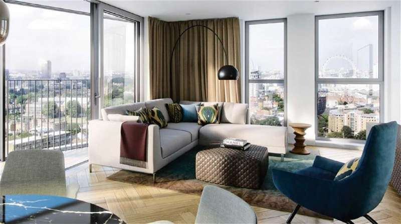1 Bedroom Property for sale in Two Fifty One, London, SE1