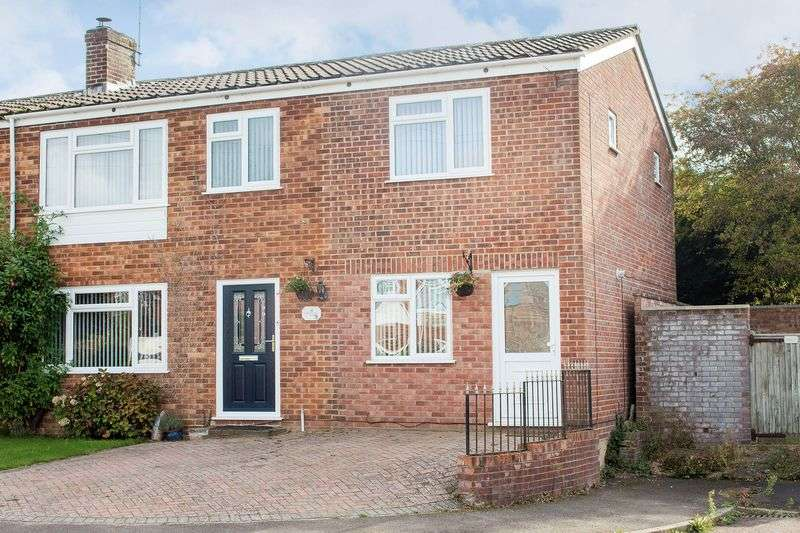4 Bedrooms Semi Detached House for sale in Totton