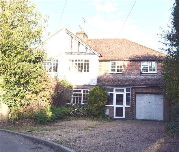 4 Bedrooms Semi Detached House for sale in Childbridge Way, Seal. TN13 ODG