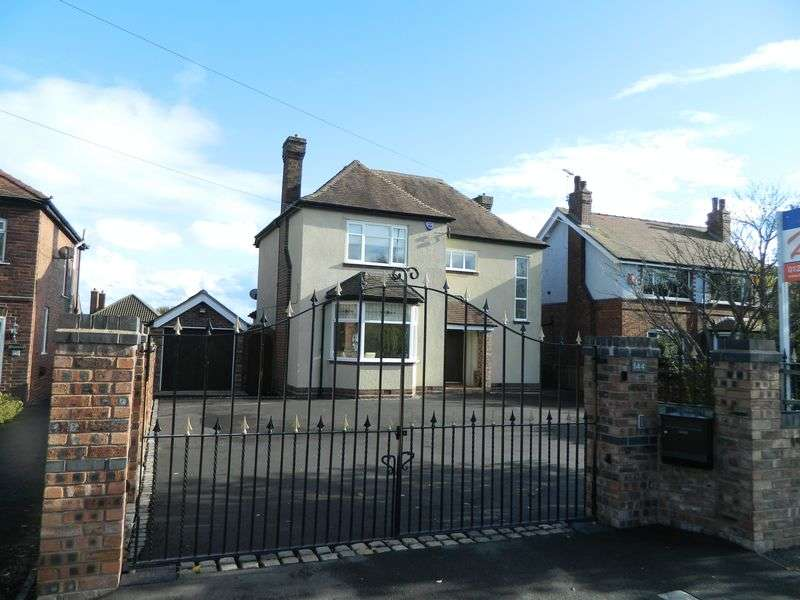 3 Bedrooms Detached House for sale in Crewe Road, Sandbach