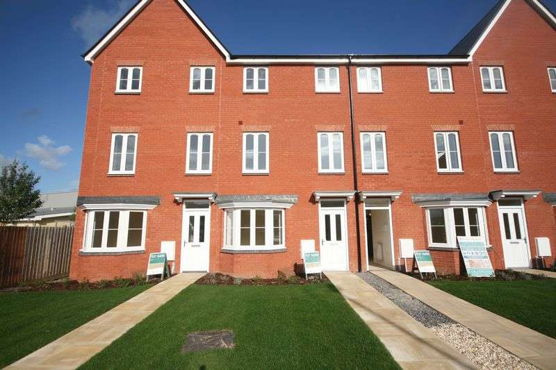 4 Bedrooms Terraced House for sale in Plot 320 'The Nightingales', North Petherton