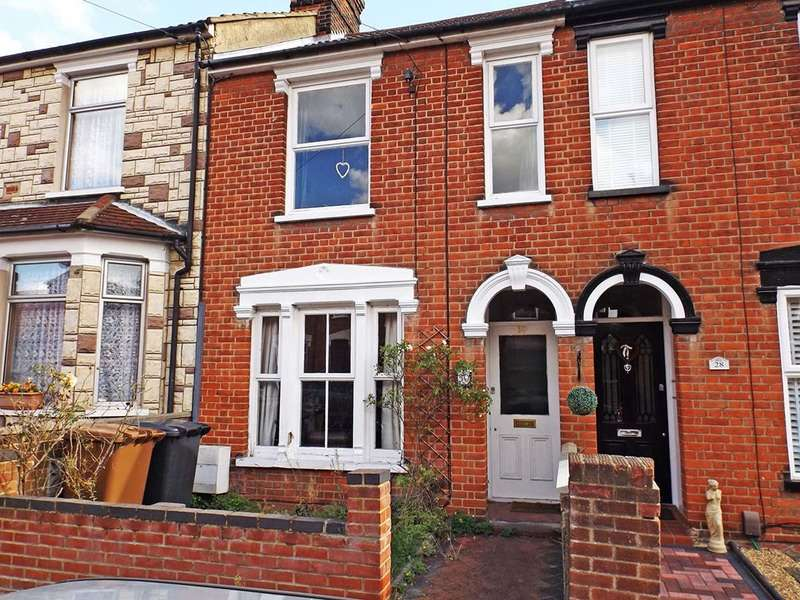 2 Bedrooms Terraced House for sale in Khartoum Road, Ipswich, Suffolk, IP4