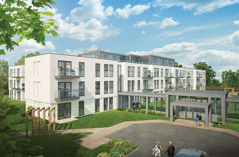 3 Bedrooms Flat for sale in New Court, Lansdown Road, Cheltenham, Gloucestershire, GL50