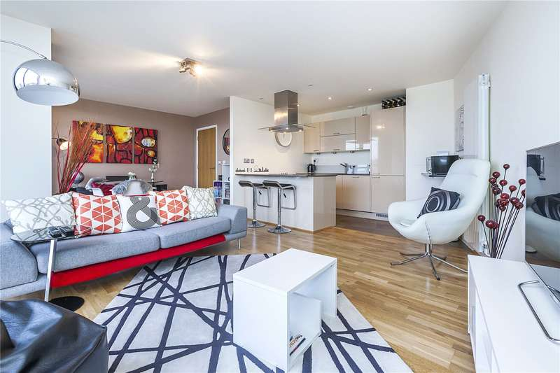 1 Bedroom Flat for sale in Atrium Heights, 4 Little Thames Walk, London, SE8