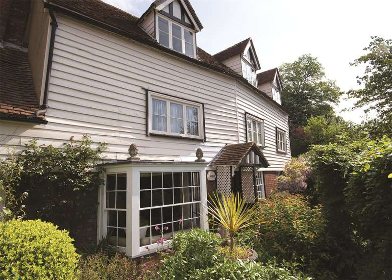 4 Bedrooms Semi Detached House for sale in High Street, Brenchley, Tonbridge, Kent, TN12