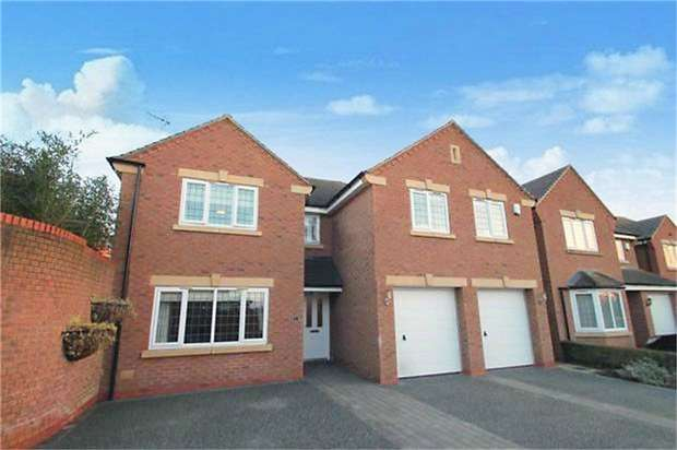 5 Bedrooms Detached House for sale in Cawley Field, Anstey, Leicester