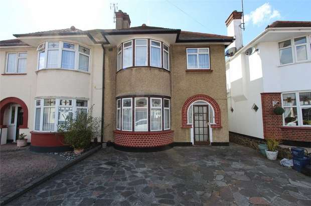 3 Bedrooms Semi Detached House for sale in Rutland Avenue, Southend-on-Sea, Essex