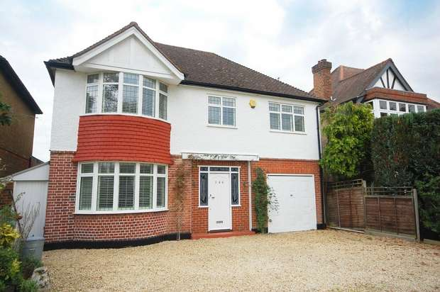 4 Bedrooms Detached House for sale in The Avenue, Sunbury-on-Thames