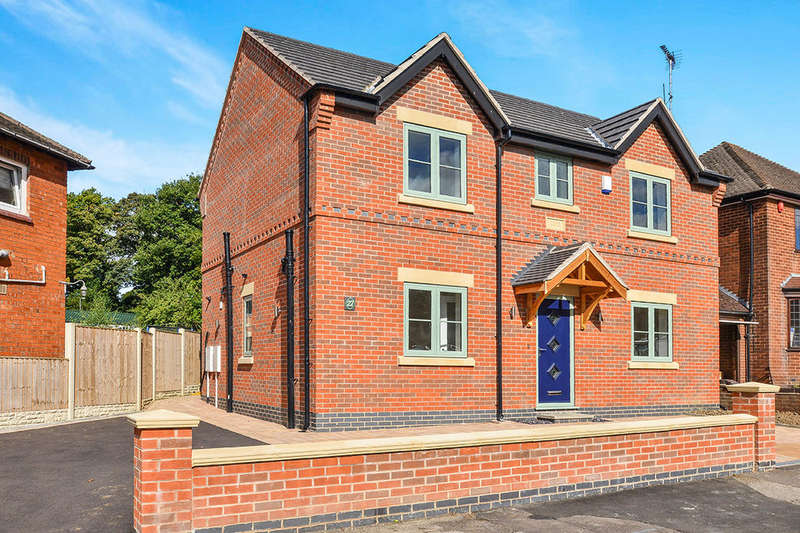 4 Bedrooms Detached House for sale in Hickton Road, Swanwick, Alfreton, DE55