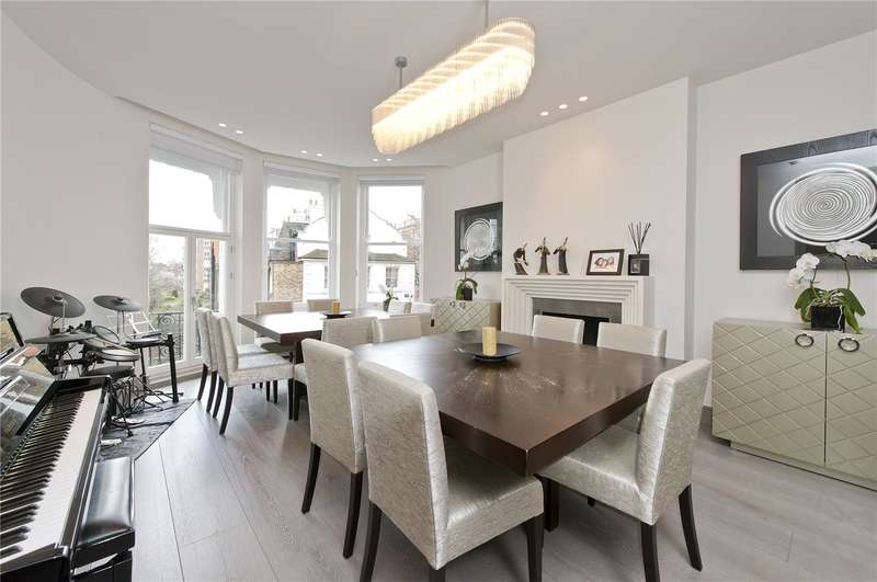 4 Bedrooms Flat for sale in Rutland House, Marloes Road, W8