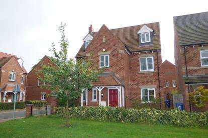 5 Bedrooms Detached House for sale in Stockdale Drive, Whittle Hall, Warrington, Cheshire, WA5