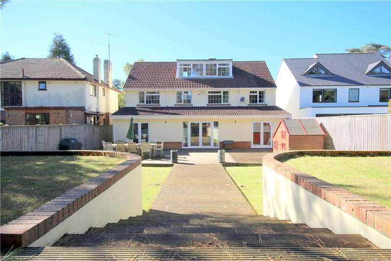 4 Bedrooms Detached House for sale in Compton Avenue, Lilliput, Poole, BH14