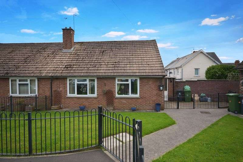 2 Bedrooms Semi Detached Bungalow for sale in Deere Close, Ely, Cardiff