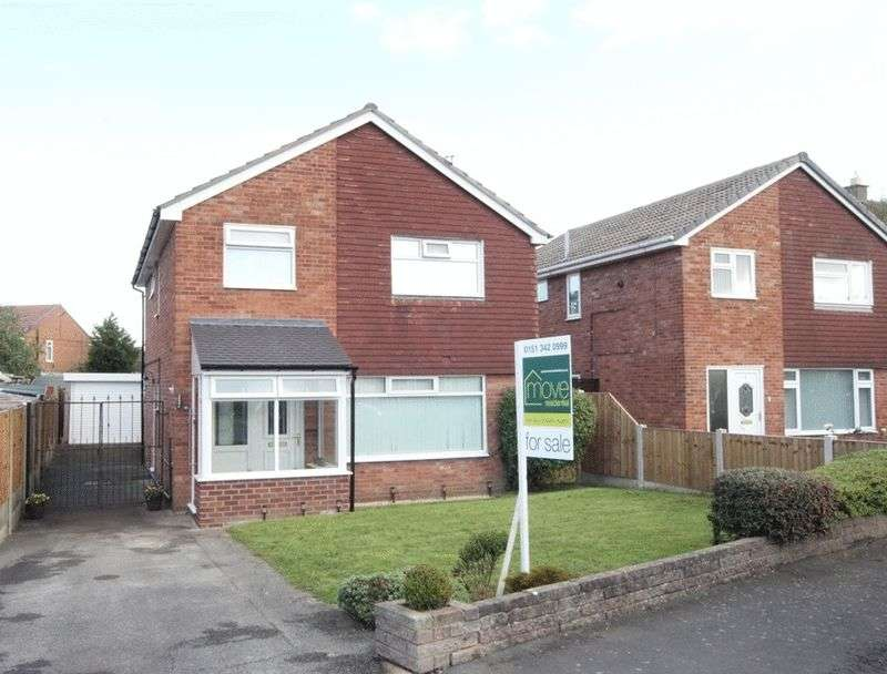 4 Bedrooms Detached House for sale in Chatsworth Road, Pensby, Wirral