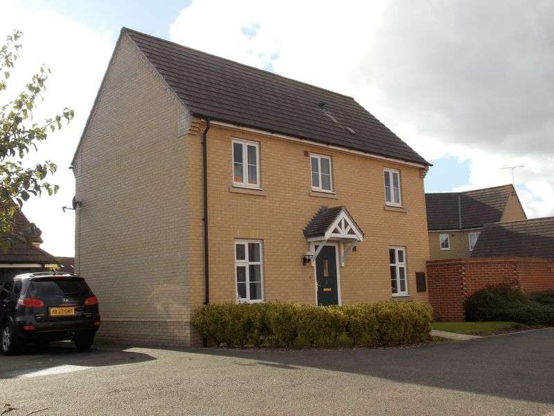 3 Bedrooms Detached House for sale in Todd Way Bury St Edmunds