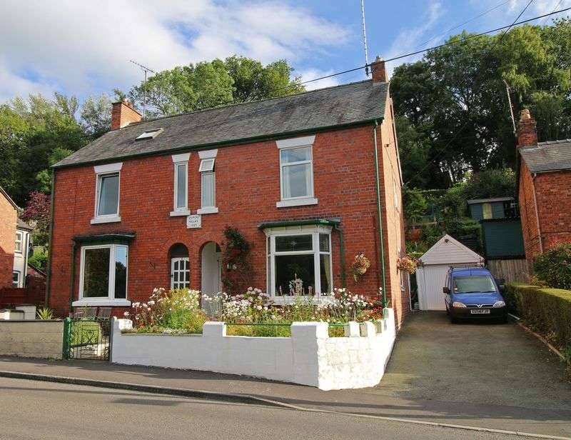 3 Bedrooms Semi Detached House for sale in Holyhead Road, Chirk Bank