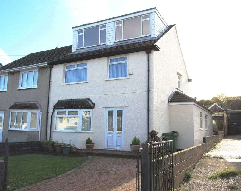 4 Bedrooms Semi Detached House for sale in Brundall Crescent, Cardiff