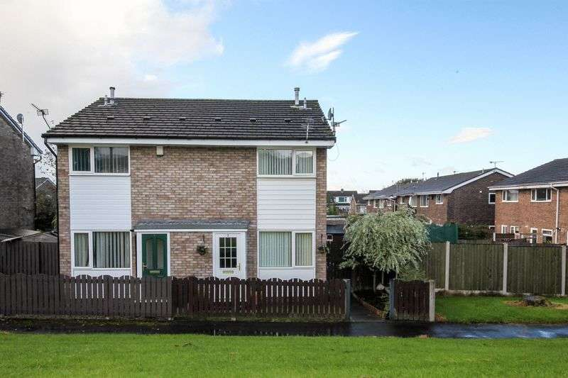 2 Bedrooms Semi Detached House for sale in Dryton Walk, Aspull