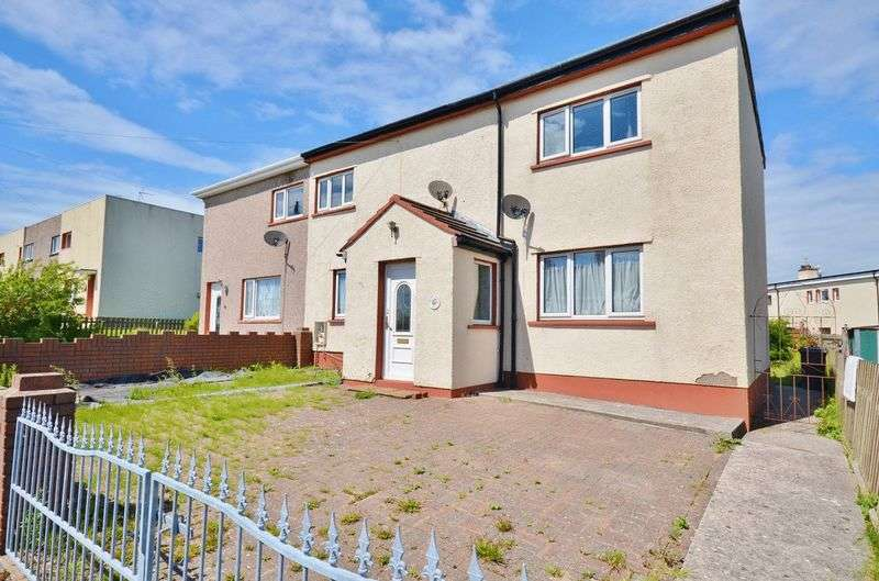 3 Bedrooms Semi Detached House for sale in Barfs Road, Workington