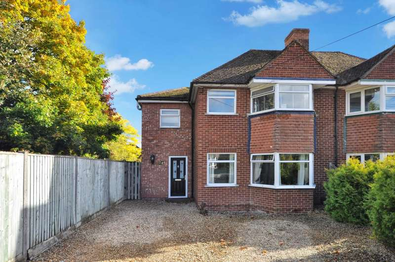 4 Bedrooms Semi Detached House for sale in Sherwood Road, Didcot