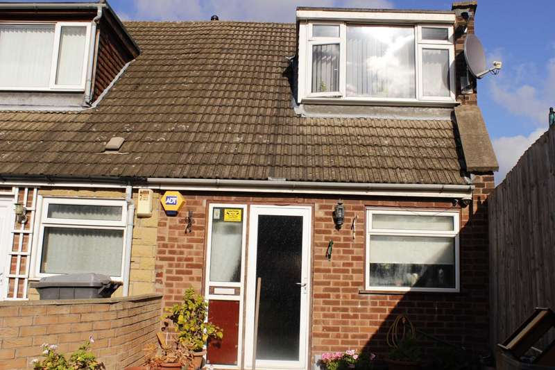 2 Bedrooms End Of Terrace House for sale in Fairfax Close, Leicester