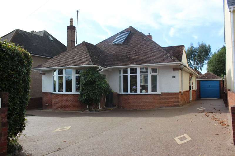 2 Bedrooms Detached Bungalow for sale in Exeter Road, Exmouth