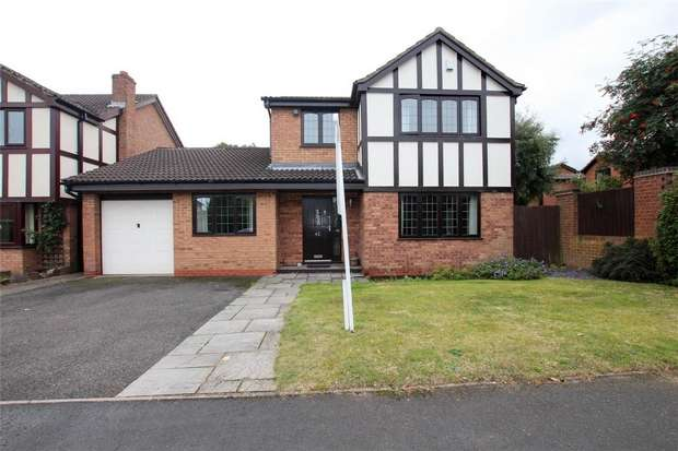 4 Bedrooms Detached House for sale in Somerville Road, Alrewas, Burton upon Trent, Staffordshire