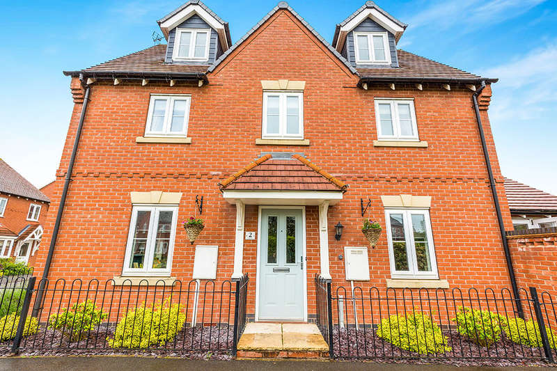 5 Bedrooms Detached House for sale in Moray Close, Church Gresley, Swadlincote, DE11