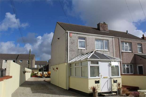 3 Bedrooms Semi Detached House for sale in Foundry Road, Camborne, Cornwall