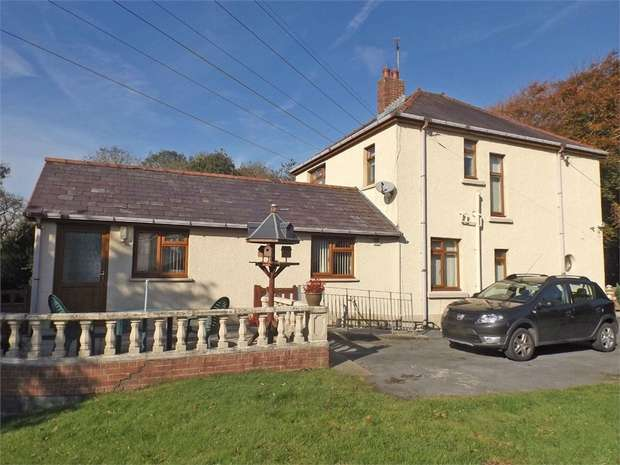 3 Bedrooms Detached House for sale in Heol Morlais, Trimsaran, Kidwelly, Carmarthenshire