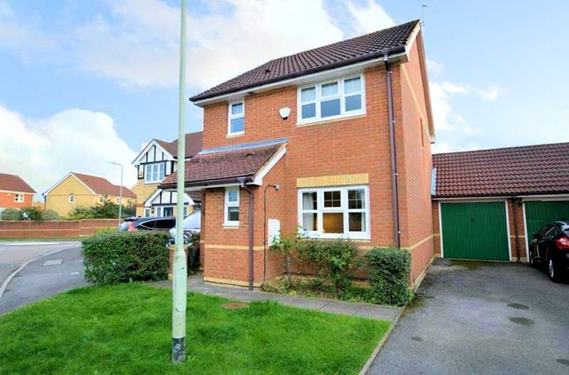 3 Bedrooms Link Detached House for sale in Whitehart Close, Theale, Reading, RG7
