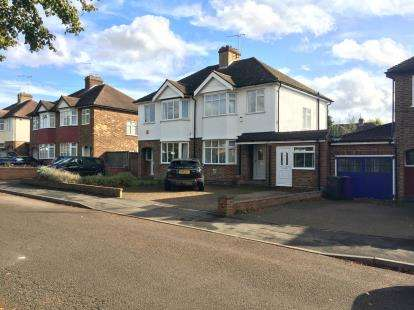 3 Bedrooms Semi Detached House for sale in Cambridge Road, Hitchin, Hertfordshire