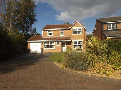 4 Bedrooms Detached House for sale in Meadow Vale, Leyland, Preston, Lancashire, PR26