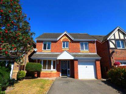 4 Bedrooms Detached House for sale in Golding Crescent, Burton-On-Trent, Staffordshire