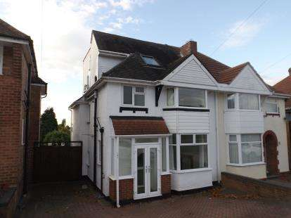 4 Bedrooms Semi Detached House for sale in Groveley Lane, Birmingham, West Midlands