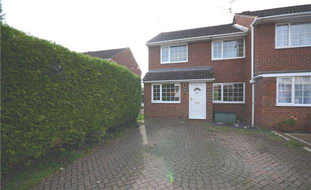 3 Bedrooms End Of Terrace House for sale in Hazel Avenue, Farnborough, Hampshire