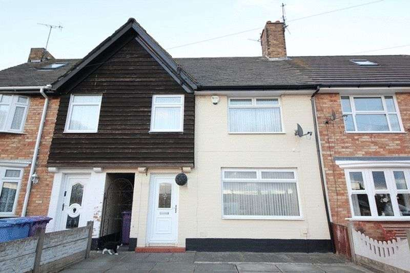 3 Bedrooms Terraced House for sale in Ramsbrook Road, Speke, Liverpool, L24