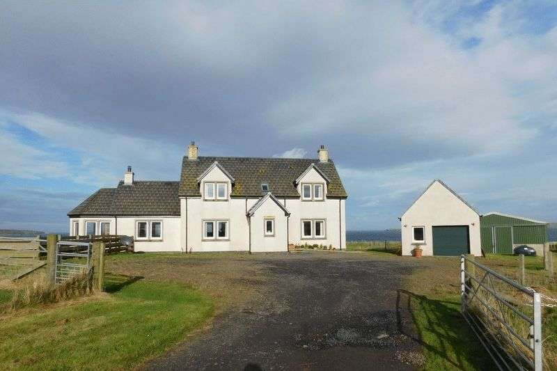 4 Bedrooms Detached House for sale in Brambridge, Kirkstyle, Canisbay, Wick, Caithness, KW1 4YB