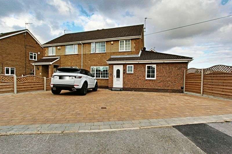 3 Bedrooms Semi Detached House for sale in Goodmanham Way, Cottingham
