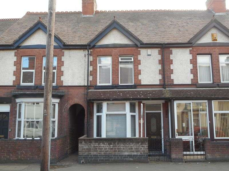 3 Bedrooms Terraced House for sale in Arbury Road, Nuneaton